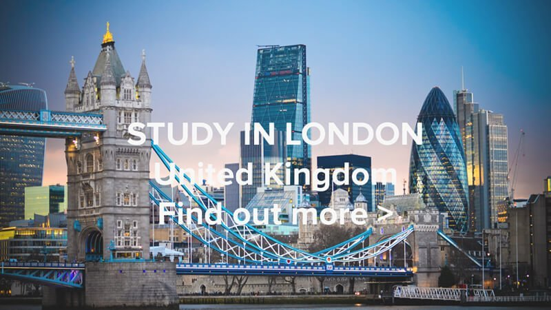 Study In London Web
