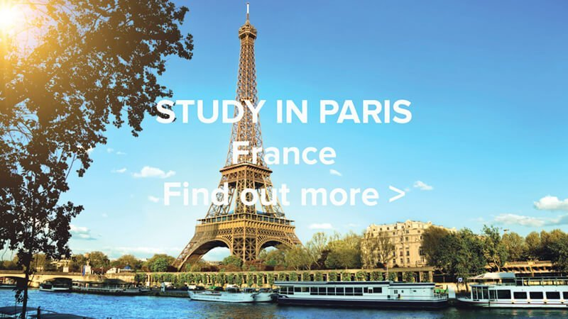 Study In Paris Web