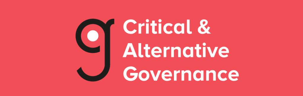 Critical And Alternative Governance