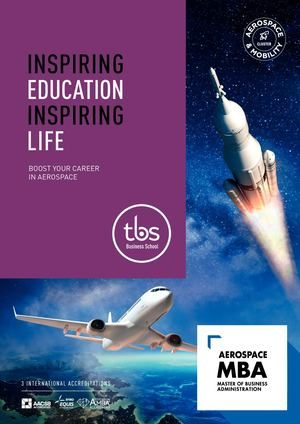 Tbs Aerospace Mba Brochure