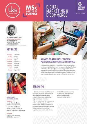 Tbs Msc Digital Marketing And E Commerce