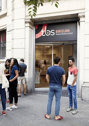 Facade Tbs Barcelone