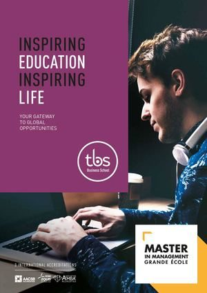 Tbs Master In Management Brochure