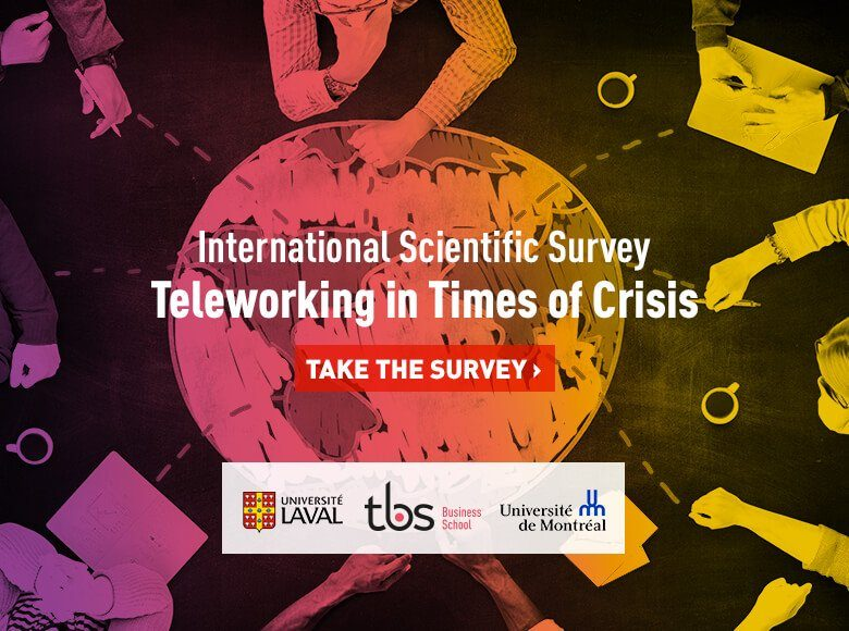 Tbs Teleworking In Times Of Crisis Take Survey
