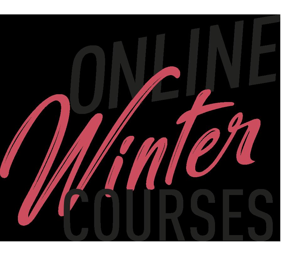 Logo Online Winter Courses 2