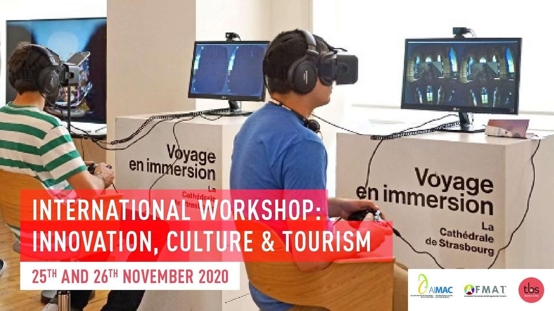 International Workshop Innovation Culture Tourisme